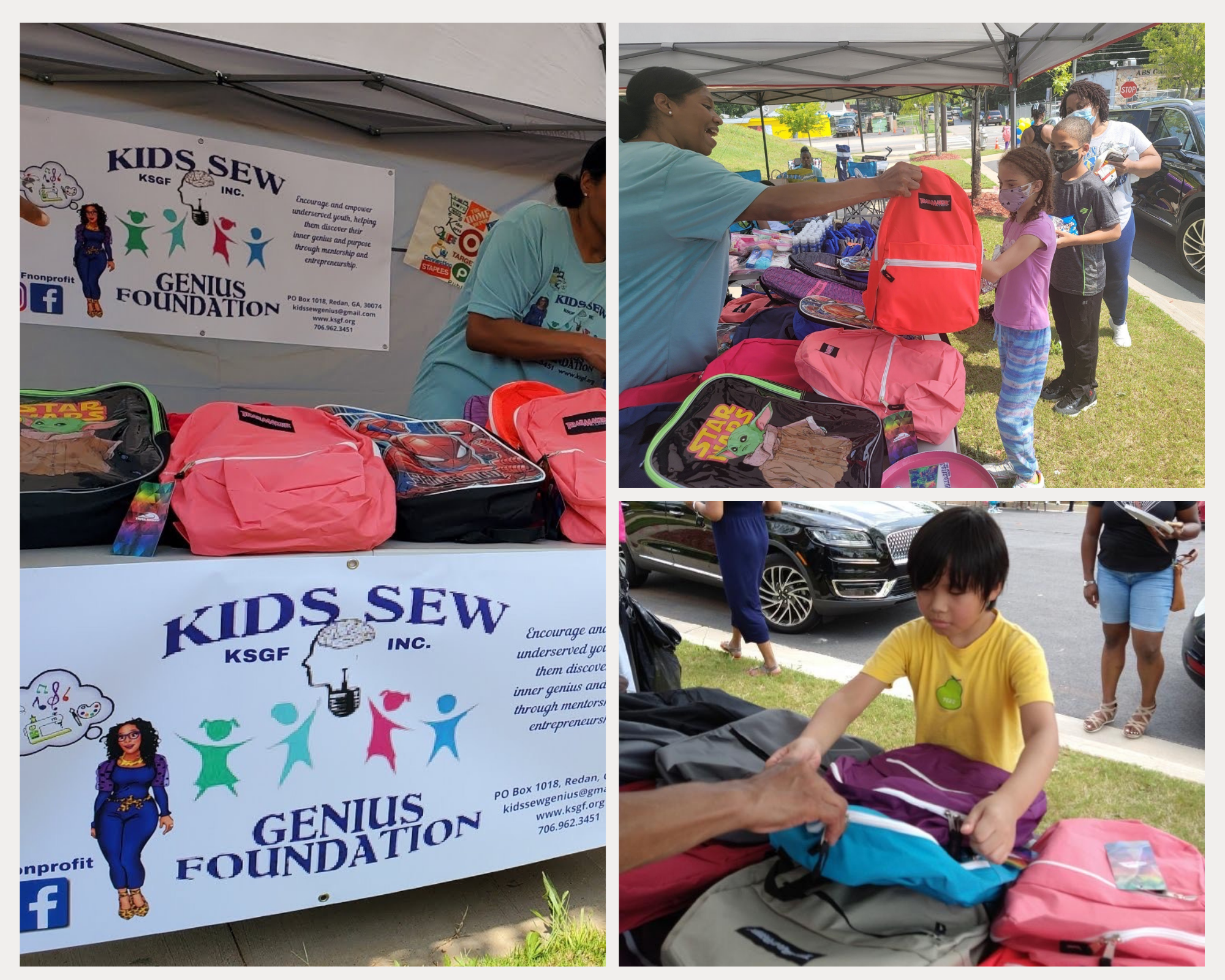 Recent Events - Kids Sew Genius Foundation